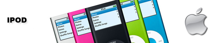 apple, ipod classic, ipod touch, iPod Shuffle, ipod nano header image